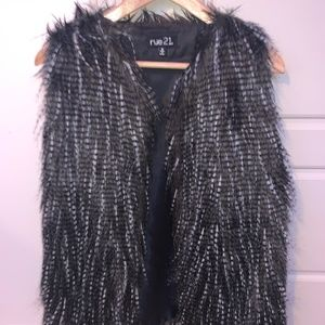 Rue 21 Furry Vest